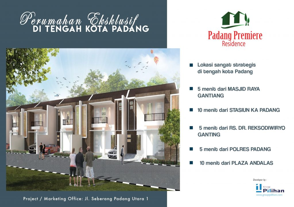 padang premiere residence - Front kecil